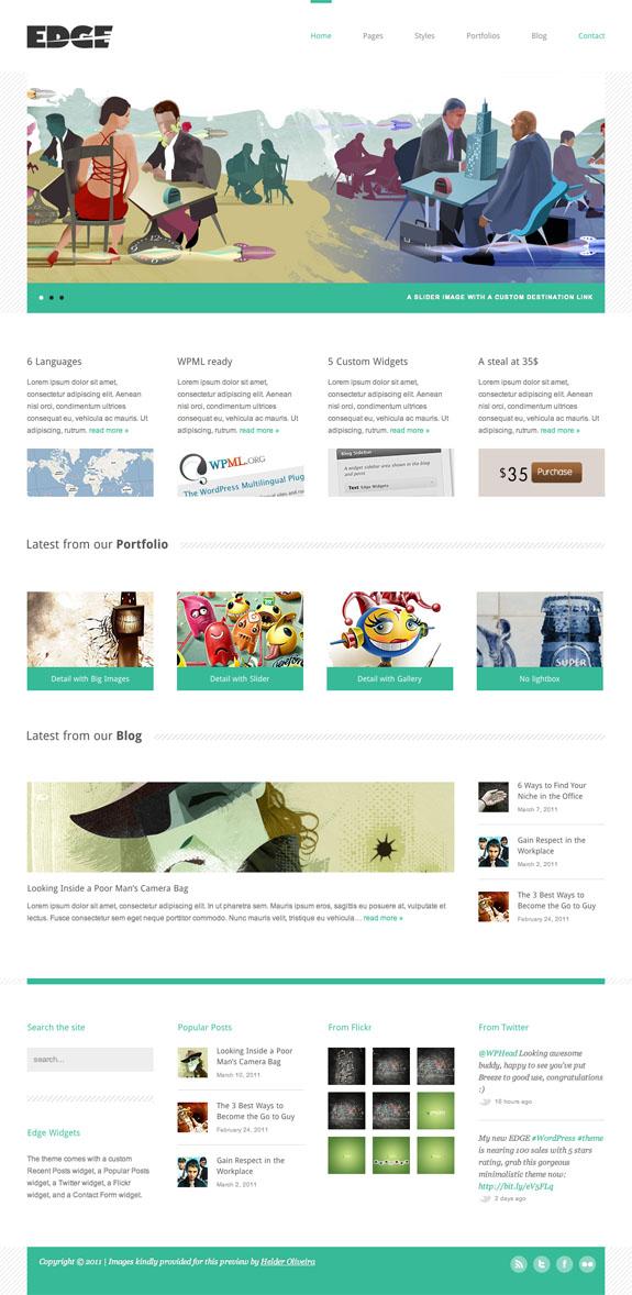 Edge Premium WordPress Theme