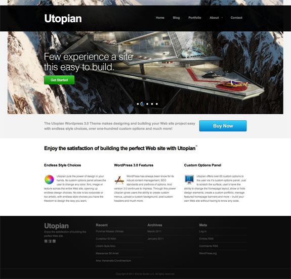 Utopian Premium WordPress Theme