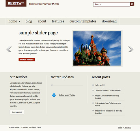 Berita Free WordPress Theme