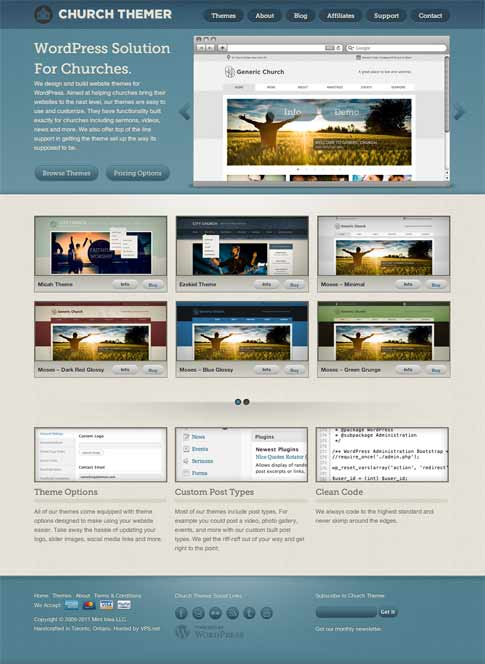 Moses Free WordPress Theme