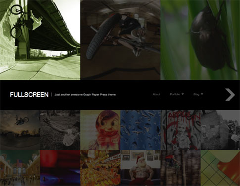 Fullscreen Free WordPress Theme