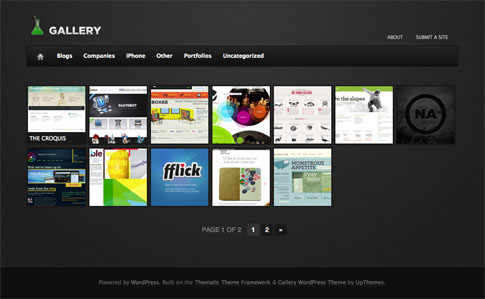 Gallery Free WordPress Theme