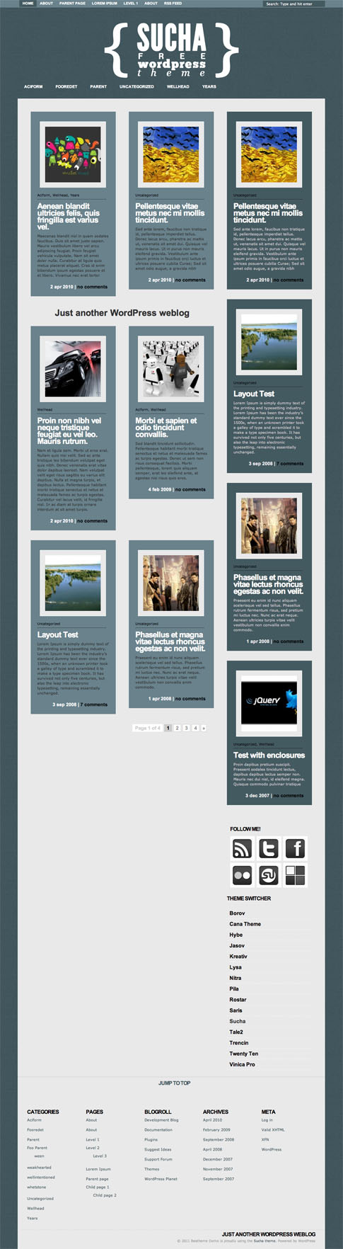 Sucha Free WordPress Theme
