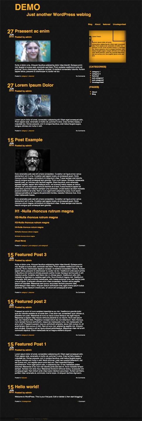 Typografia Free WordPress Theme