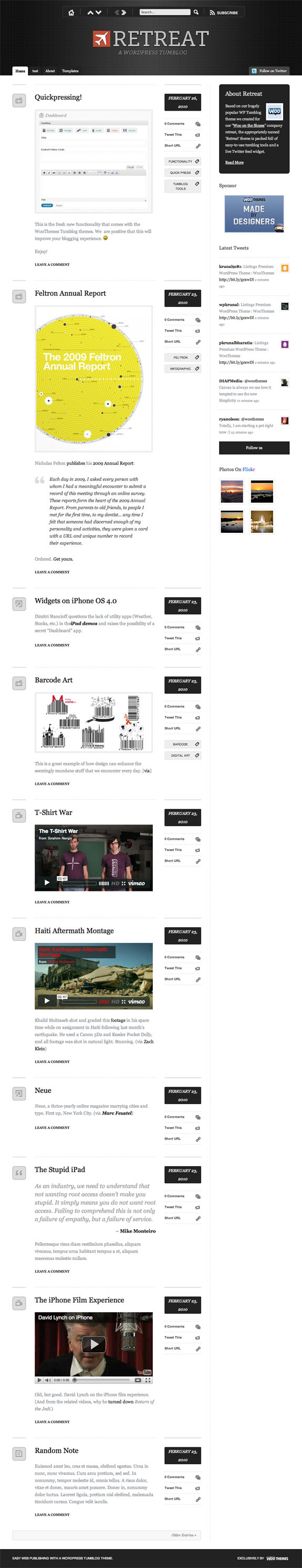 Retreat Premium WordPress Theme