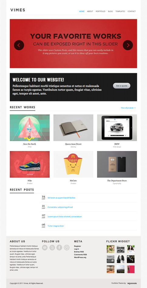 Vimes Premium WordPress Theme