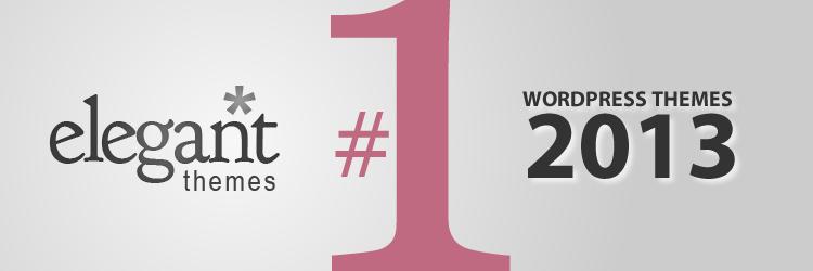 Elegant Themes - WordPress Themes 2013
