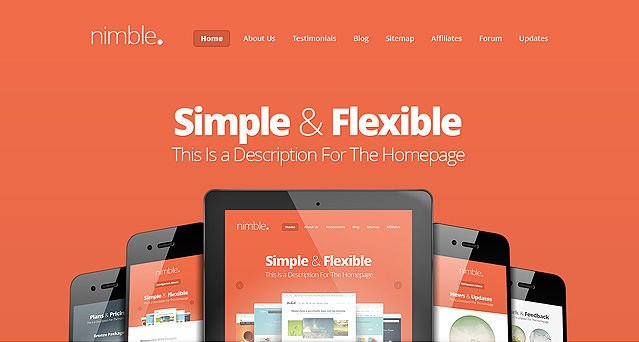 Nimble Theme from ElegantThemes.com