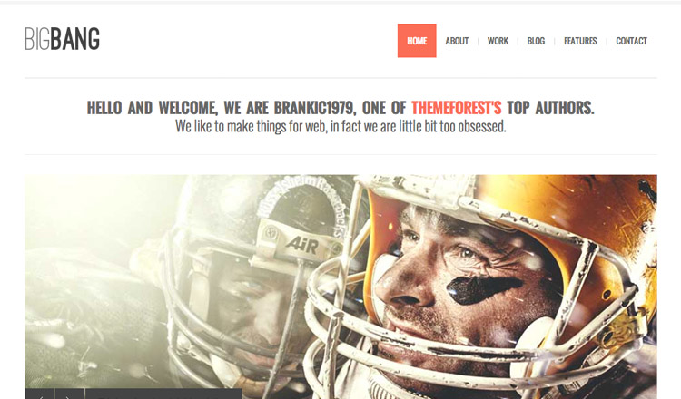BigBang- Best Responsive WordPress Theme 2013