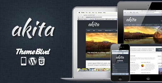 Akita - Best HTML5 WordPress Theme 2012