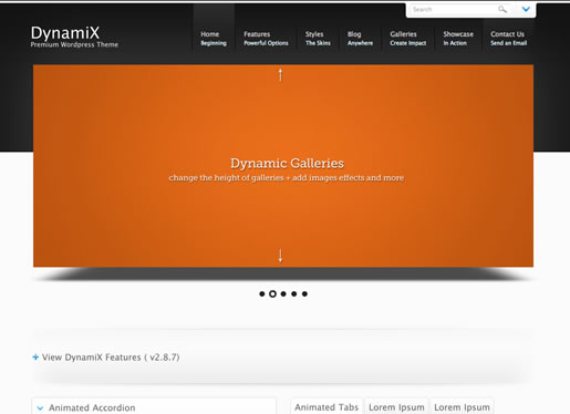 Dynamix - Best BuddyPress WordPress Theme 2012