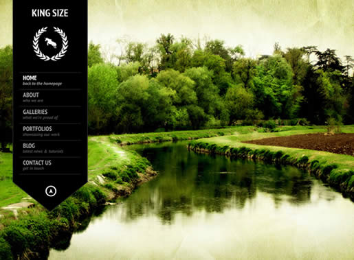 KingSize - Best Photography WordPress Theme 2012