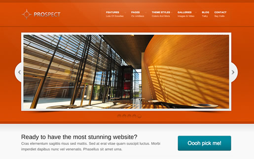Prospect - Best Free WordPress Theme 2012