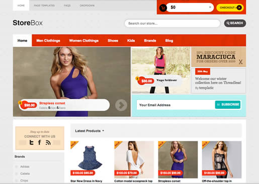 StoreBox - Best Ecommerce WordPress Theme 2012