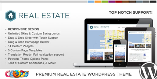 WP Pro Real Estate - Best Real Estate WordPress Theme 2012