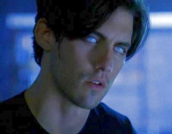 Peter Petrelli painting the future