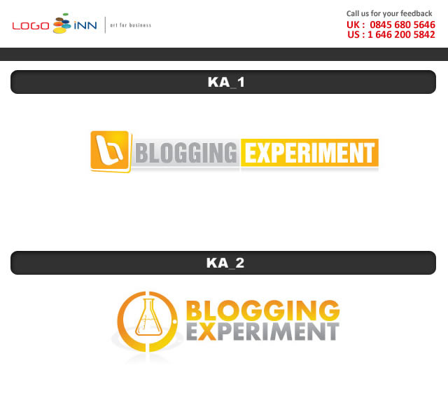 Blogging Experiment Logo Ideas