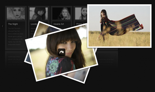 Beautiful Photo Stack Gallery with jQuery and CSS3