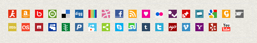 BBC GEL Social Media Icons