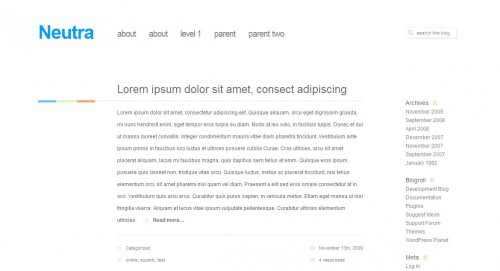 Neutra-Wordpress-Theme