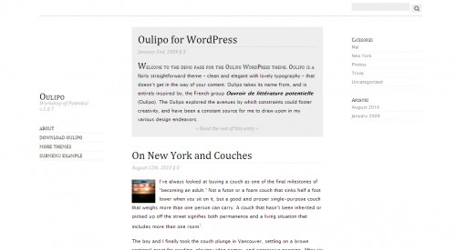 Oulipo-Minimalist-Wordpress-Theme