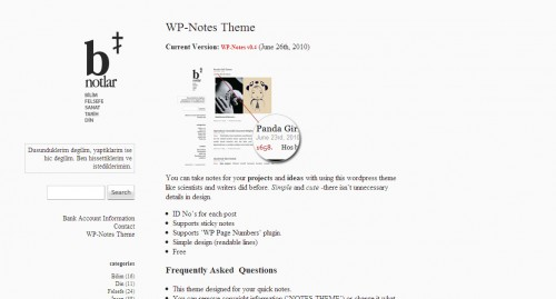 Wp-Notes-Minimalist-Wordpress-Theme