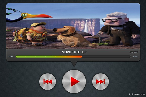 Movie-Player-UI