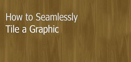 How to Seamlessly Tile a Graphic