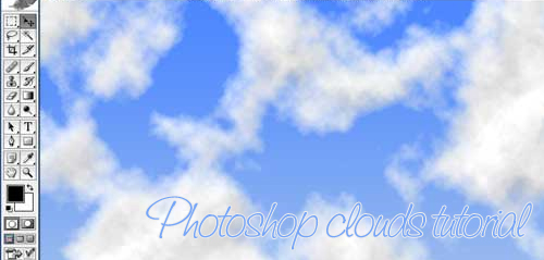 Photoshop clouds tutorial