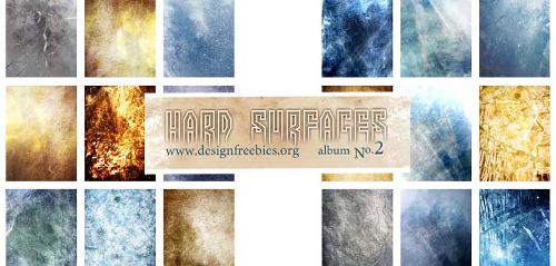 Free Textures: Mixed Hard Surfaces Plus Photoshop Texture Tutorial