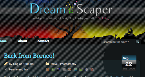 07 - Dream Scaper Blog