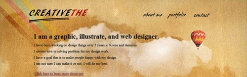 95 Fresh Examples Of Single Page Website Designs
